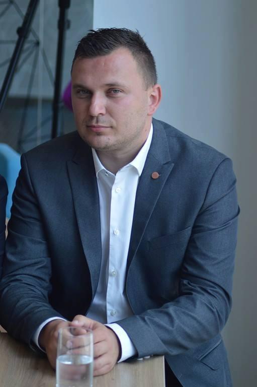 Michał Chromiński skarbnik MKP Pogoń Siedlce